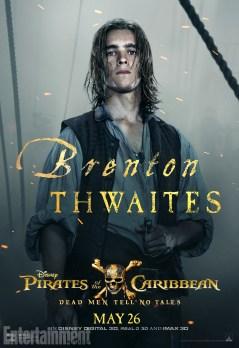 pirates des caraibes 5 - Brenton Thwaites - Henri