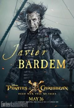 pirates des caraibes 5 - Javier Bardem - Capitaine Salazar
