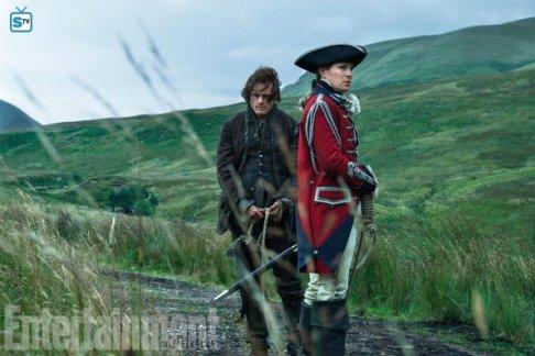 Stills saison 3 - Lord John Grey et Jamie