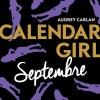 Calendar Girl – Septembre de Audrey Carlan
