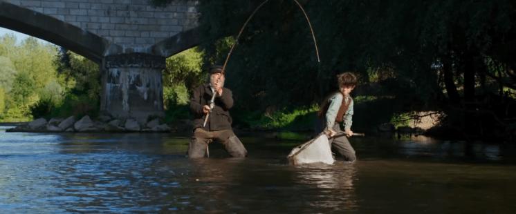 L'École Buissonnière - Totoche et Paul pêchent