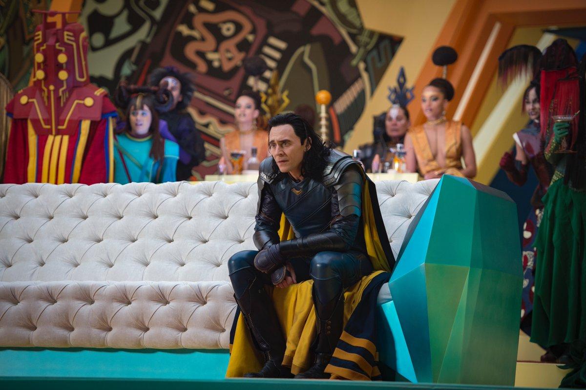 Thor Ragnarok - Loki canapé