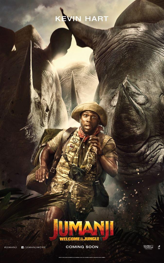 Jumanji - Bienvenue dans la jungle - Kevin Hart