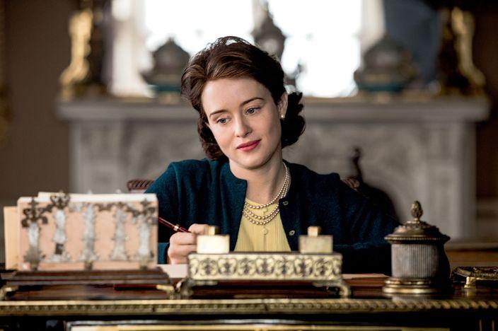 The Crown - Elizabeth écrit a Jackie