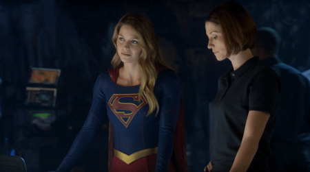 Supergirl S1 - Supergirl et Alex