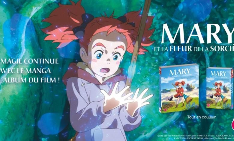 Photo de Mary et la fleur de la sorcière : Anime Comics