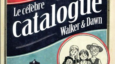 Photo of Le célèbre catalogue Walker & Dawn de D. Morosinotto