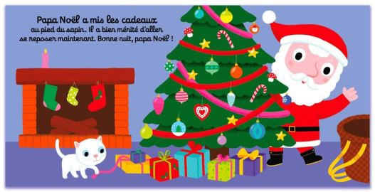 Bonjour papa Noël ! de Nathalie Choux-3