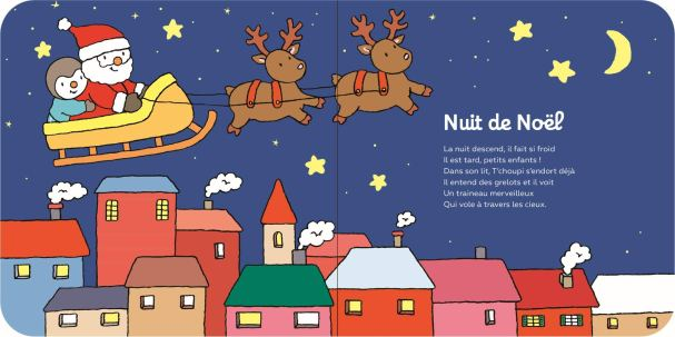 T'choupi, Mes chansons de Noël - Livre sonore de Thierry Courtin-1