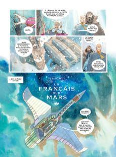 Le Château des Étoiles T4 Un français sur Mars de Alex Alice-1