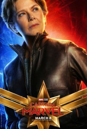 Captain Marvel - Promo Dr Wendy Lawson alias Mar-Vell