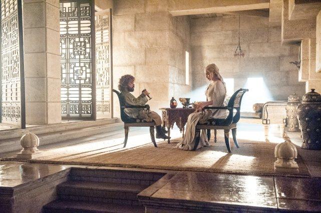 Daenerys et Tyrion, dans la saison 5