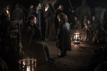 Game of Thrones Saison 8 ep 3 - Sansa et Tyrion
