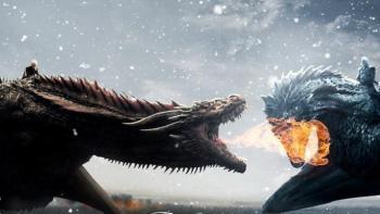 Game of Thrones Saison 8 ep 3 - dragon