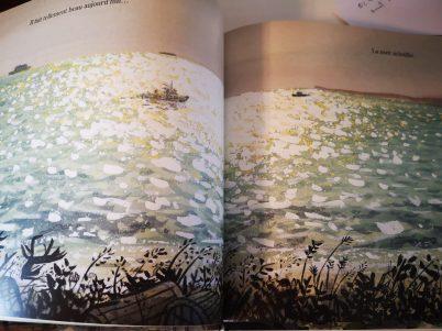 D'ici, je vois la mer de Joanne Schwartz (Auteur) & Sydney Smith (Illustrations)