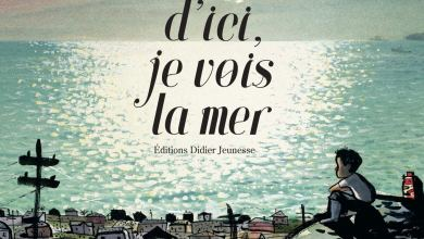 Photo of D'ici, je vois la mer de Joanne Schwartz (Auteur) & Sydney Smith (Illustrations)