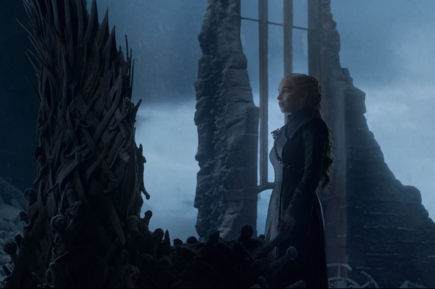Game of thrones Saison 8 - Episode 6 - Dany et le trone