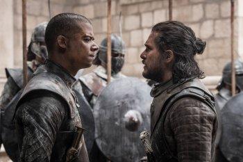 Game of thrones Saison 8 - Episode 6 - Jon et Ver Gris