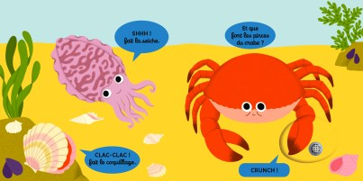 Bloup ! Mon imagier sonore des animaux de la mer-2