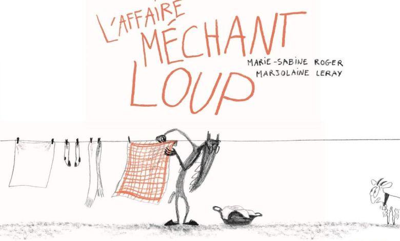 Photo de L'Affaire Méchant Loup de Marie-Sabine Roger et Marjolaine Leray