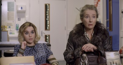 (from left) Kate (Emilia Clarke) and Petra (Emma Thompson) in Last Christmas, directed by Paul Feig.