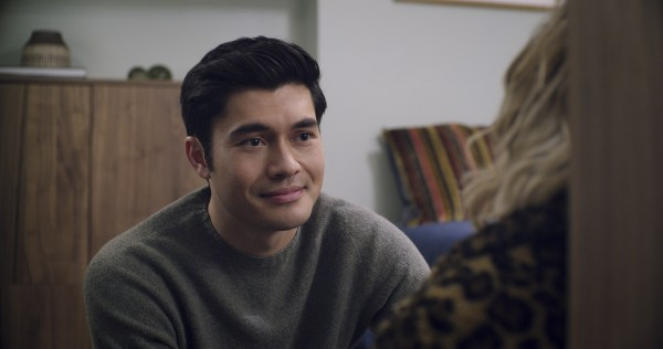 Henry Golding as Tom in Last Christmas, directed by Paul Feig.
