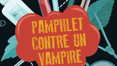 Photo of Pamphlet contre un Vampire de Sophie Jomain
