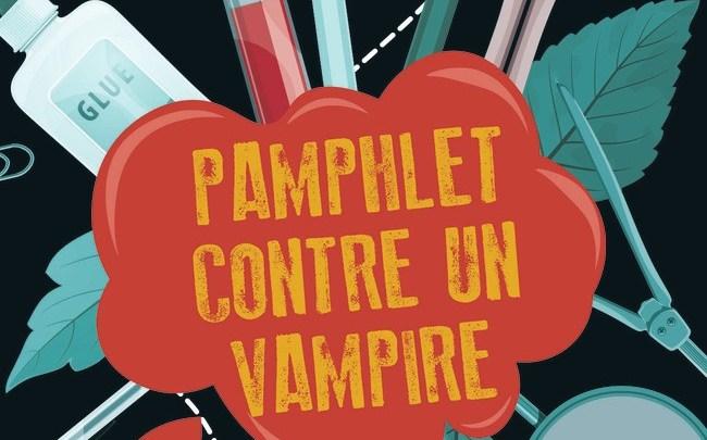 Photo of Pamphlet contre un Vampire de Sophie Jomain