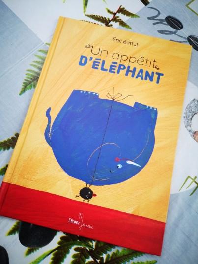 Un appétit d'éléphant de Eric Battut-1