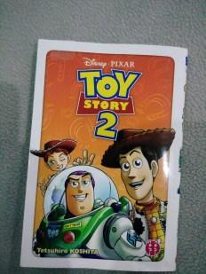 Toy story 2 Manga Tetsuhiro Koshita