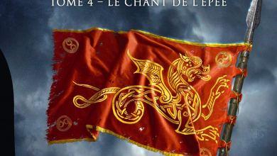 Photo de Les chroniques saxonnes T04 : Le chant de l'épée de Bernard Cornwell