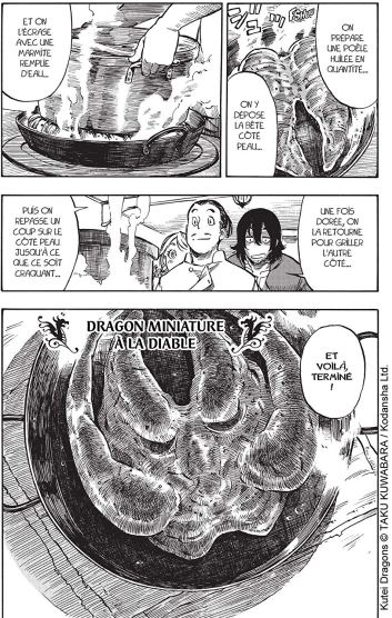 Extrait 1 drifting dragons T01 de Taku Kuwabara