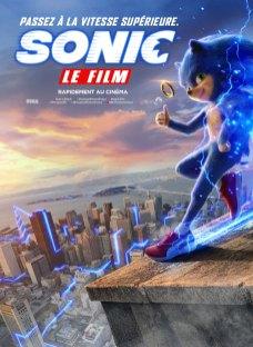 Sonic le film sortie cinéma