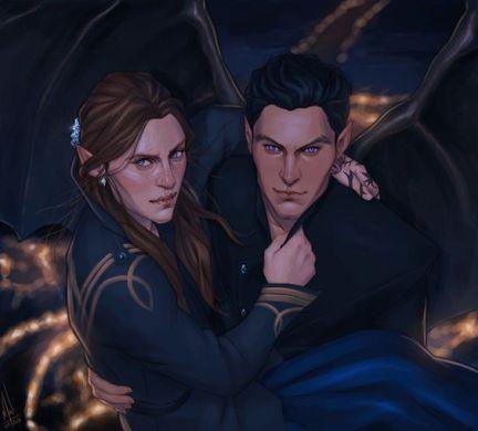 Feyre et Rhysand