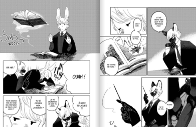 The wize wize beasts of the wizarding wisdoms de Nagabe Extrait Copyright Komikku 2020