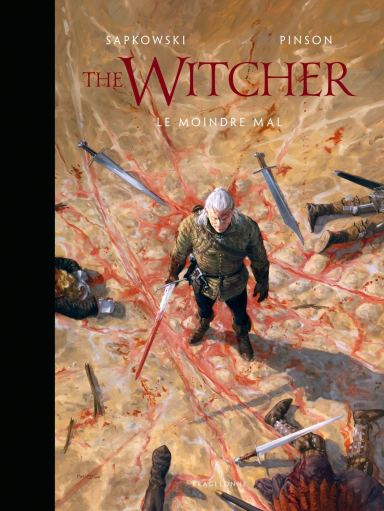 L'Univers du Sorceleur (Witcher) The Witcher illustré Le moindre mal de Andrzej Sapkowski (Auteur) et Ugo Pinson (Artister)