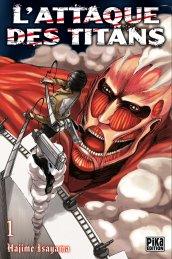 L'attaque des Titans T01 de Hajime Isayama
