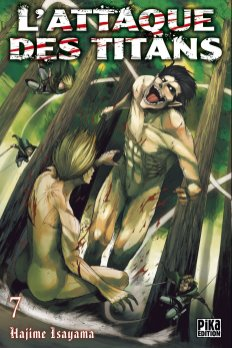 L'attaque des Titans T07 de Hajime Isayama