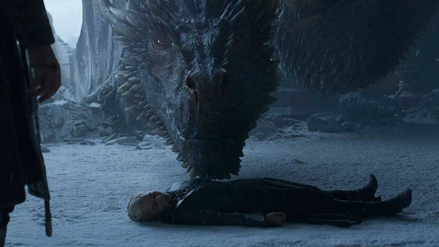Game of thrones Saison 8 - Episode 6 - Drogon