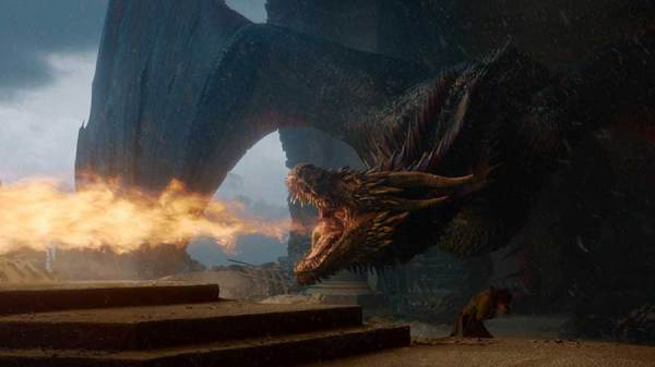 Game of thrones Saison 8 - Episode 6 - Drogon en colère
