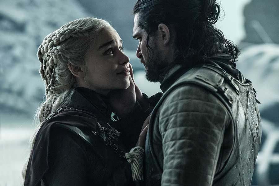 Game of thrones Saison 8 - Episode 6 - Jon et Dany