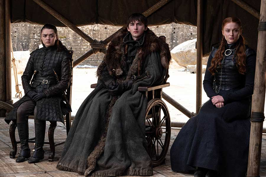 Game of thrones Saison 8 - Episode 6 - Les starks
