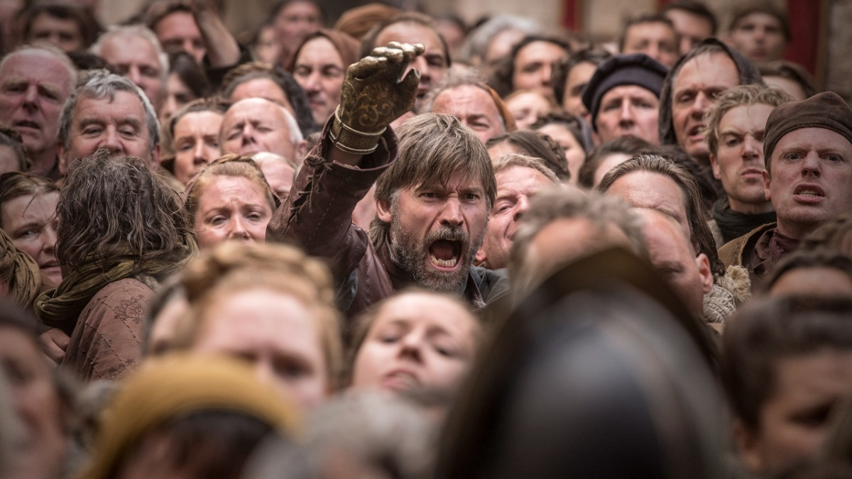 Games of Thrones Saison 8 - Episode 5 - Jaime Give Me 5