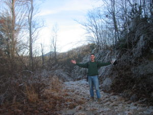 Old Logging Road 15 Mountain Acres For Sale Near Hendersonville North Carolina