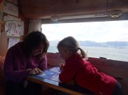 CANAL DE BEAGLE / Bivouac à proximité de Puerto Almanza - L'heure de l'école