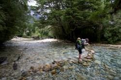 COCHAMO / Vallée de Cochamo - Balade vers une cascade