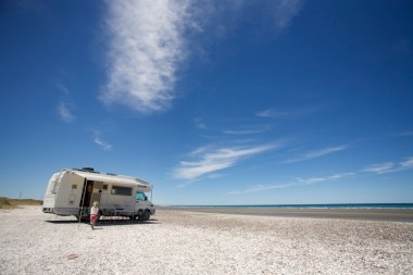 ARGENTINE / Bivouac sur la plage de San Antonio de Este