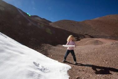 Paso Agua Negra : neiges éternelles !