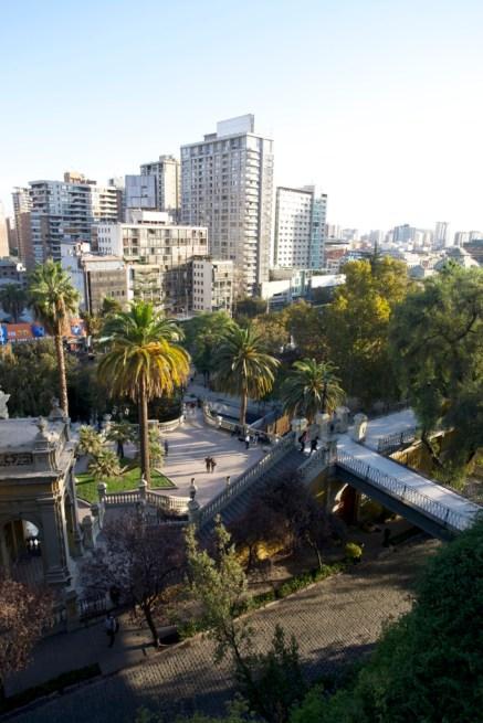 SANTIAGO / Parc Santa Lucia