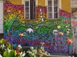 VALPARAISO / Rues - Murales